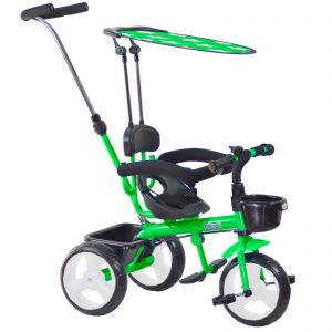 Green boppi 4 in 1 Baby Stroller Tricycle
