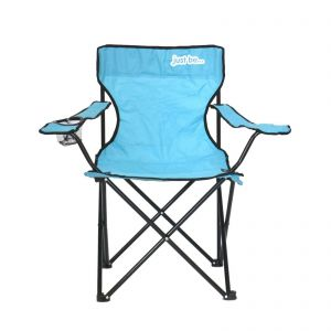 just be Light Blue Foldable Camping Chair