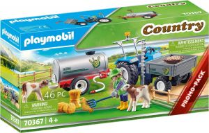 Playmobil Loading Tractor with Water Tank - Farming 70367