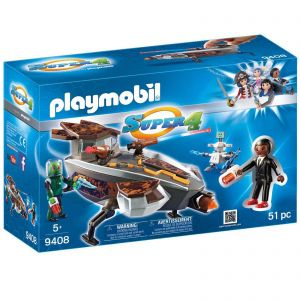 Playmobil 9408 Super 4 - Skyronian Space Glider with Gene