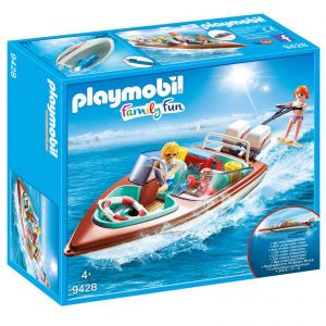Playmobil Working Speedboat with Underwater Motor - Family Fun 9428