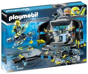 Playmobil 9250 Top Agents - Dr. Drone's Command Base