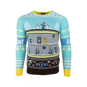 Fallout Vault Christmas Jumper / Ugly Sweater UK S / US XS
