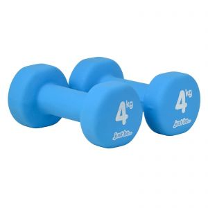 just be... Two Blue Dumbbells - 4kg