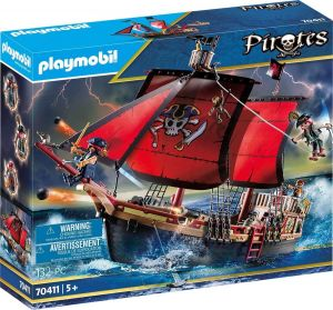 Playmobil Skull Pirate Ship - Pirates 70411