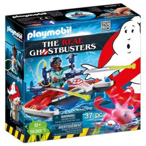 Playmobil 9387 Ghostbusters - Zeddemore with Aqua Scooter
