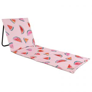 just be... Beach Mat Recliner - Watermelon