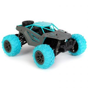 bopster RC 4 Wheel Drive 1:14 Scale 36 km/h Remote Radio Control Monster Truck Buggy Car - Blue