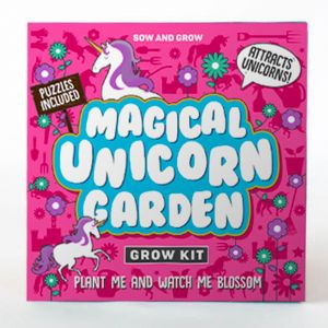 Sow and Grow - Magical Unicorn Garden Planting Starter Set