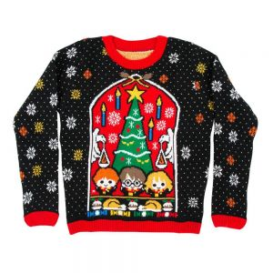 Harry Potter Great Hall Kids Christmas Jumper / Ugly Sweater - Kids UK Age 5-6