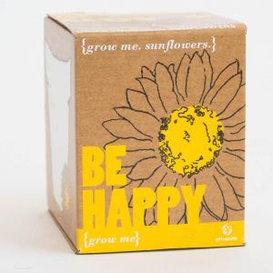 Grow Me - Be Happy Sunflowers Planting Starter Set