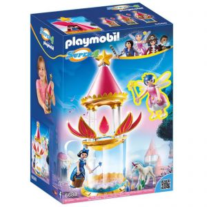 Playmobil 6688 Super 4 - Musical Flower Tower with Twinkle