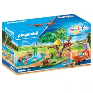 Playmobil Zoo Animal Red Panda Habitat - Family Fun 70344