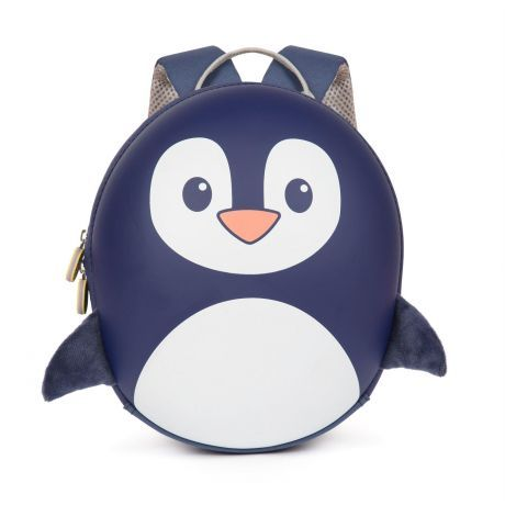 boppi Backpack Blue Penguin
