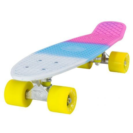 Land Surfer Cruiser 3 Tone Soda Skateboard Yellow Wheels