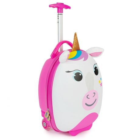 boppi tiny trekker luggage case unicorn