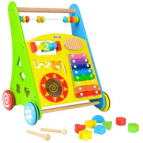 boppi Wooden Activity Baby Walker - Musical