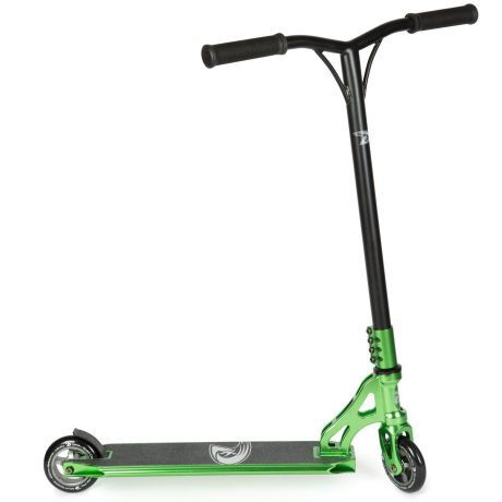 Land Surfer Pro Stunt Scooter Green