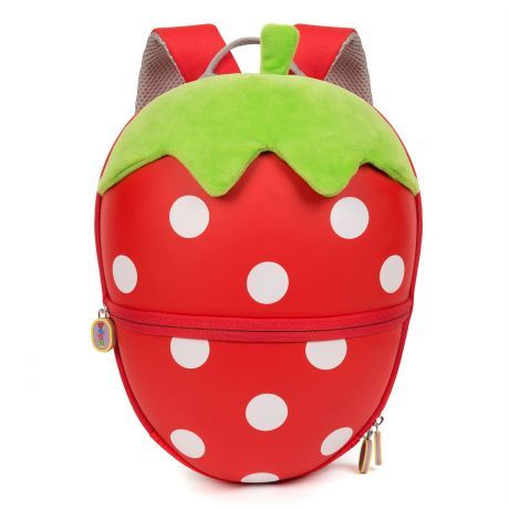 boppi Tiny Trekker Backpack - Strawberry - front view
