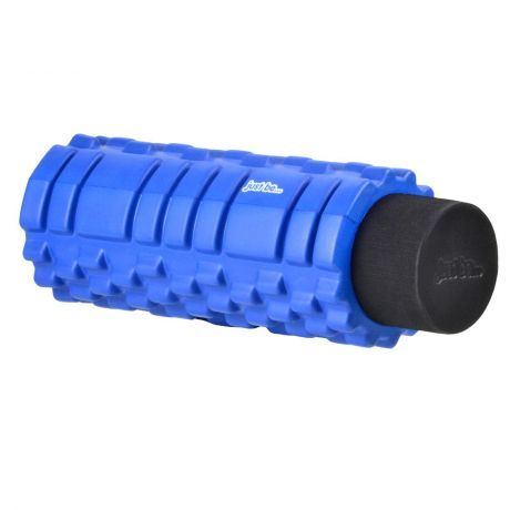 just be 2 in 1 Blue and Black Trigger Point Foam Roller