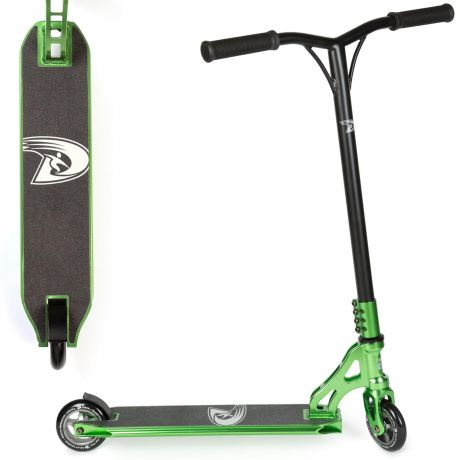 Land Surfer PRO Stunt Scooter - Green