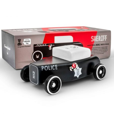 Candylab Outlaw – Sheriff Low Ride Roadster Black and White - with box