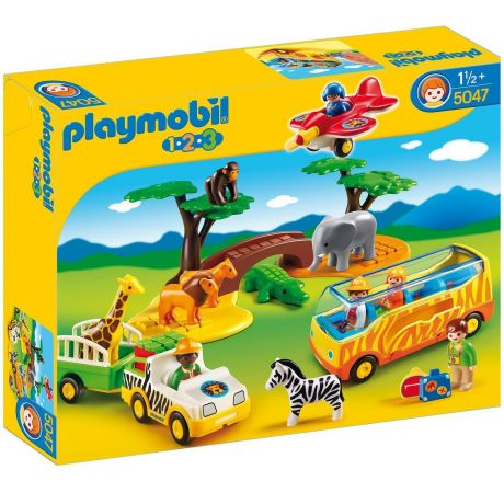 Playmobil 5047 1.2.3 Safari Set