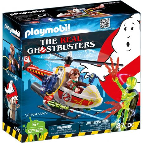 Playmobil 9385 The Real Ghostbusters - Venkman with Helicopter