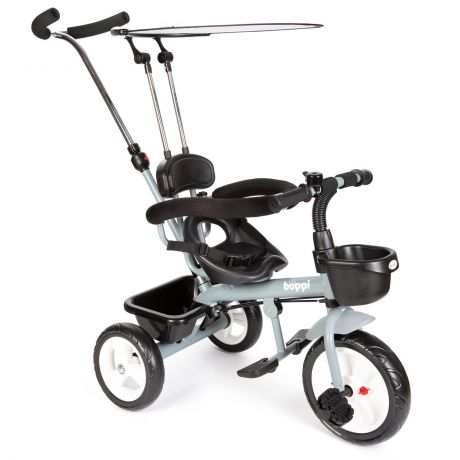 boppi Tricycle 4-in-1 Trike - Grey
