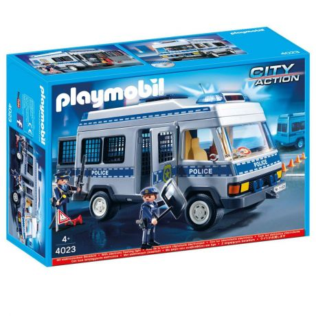 Playmobil 4023 City Life - Police Transport Vehicle