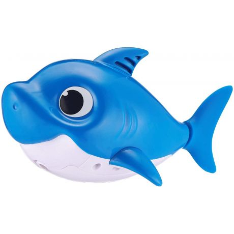 Zuru Robo Alive - Baby Shark Daddy (Blue) Sing and Swim Bath Toy