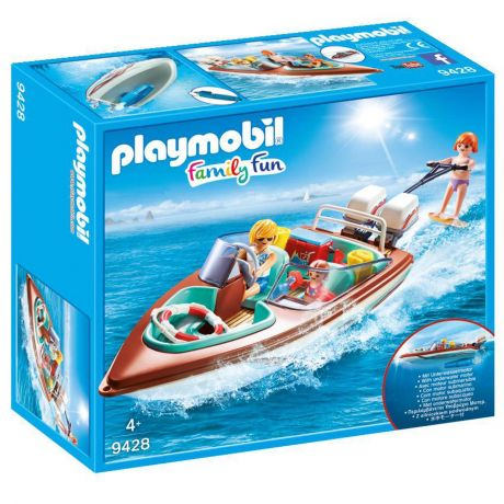 Playmobil 9428 Family Fun - Speedboat with Underwater Motor