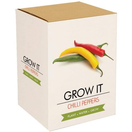 Grow It - Chilli Plants Planting Starter Set