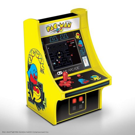 "6"" Collectible Retro Pac-Man Micro Player (Electronic Games)"