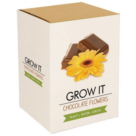 Grow It - Chocolate Flowers Planting Starter Set