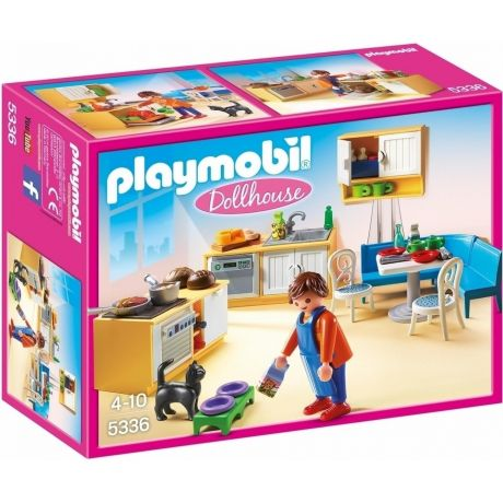 Playmobil 5336 Dollhouse Country Kitchen in full colour packaging