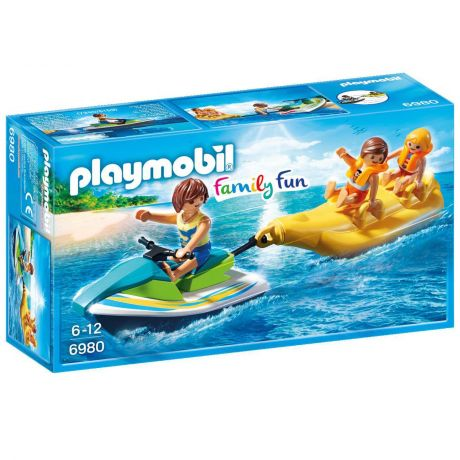 Playmobil 6980 Family Fun - Personal Watercraft with Banana Boat