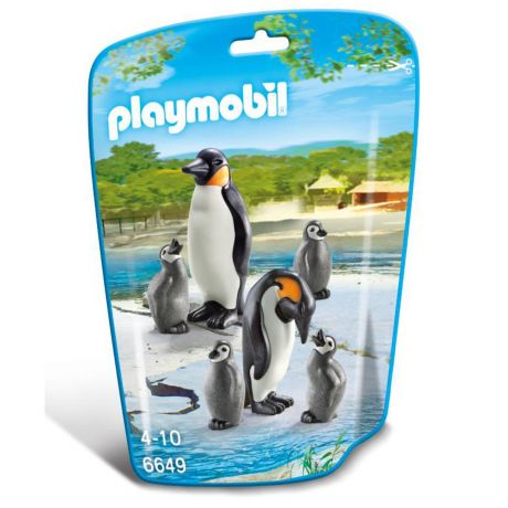 Playmobil 6649 - Penguin Family Pack