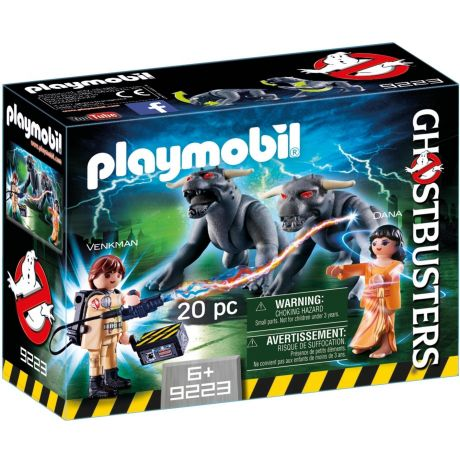 Playmobil 9223 Ghostbusters - Venkman with Terror Dogs