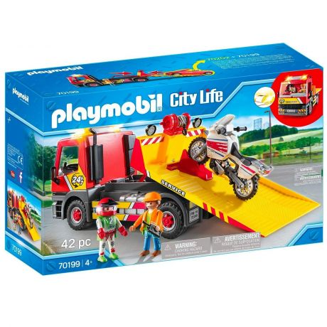Playmobil 70199 City Life - Towing Service