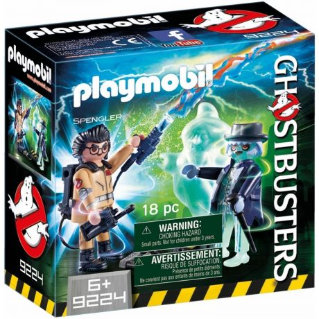 Playmobil 9224 Ghostbusters™ Spengler with Ghost box