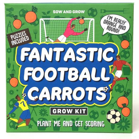 Sow and Grow - Fantastic Football Carrots Planting Starter Set