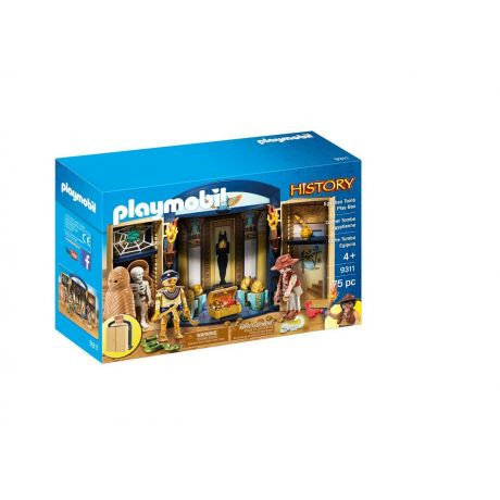 Playmobil 9311 History - Egyptian Tomb Play Box