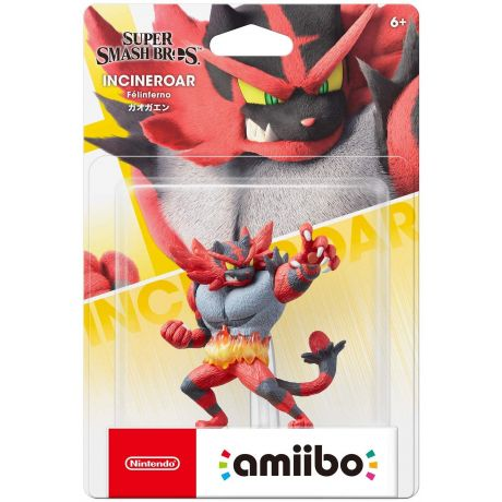 Amiibo Incineroar Nintendo Switch