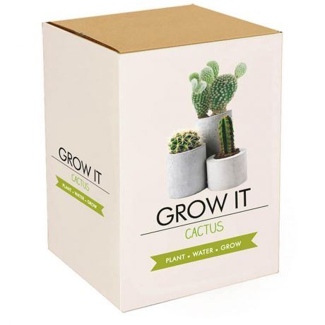 Grow It - Cactus Plants Planting Starter Set