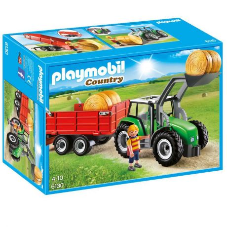 Playmobil 6130 Country - Large Tractor with Trailer