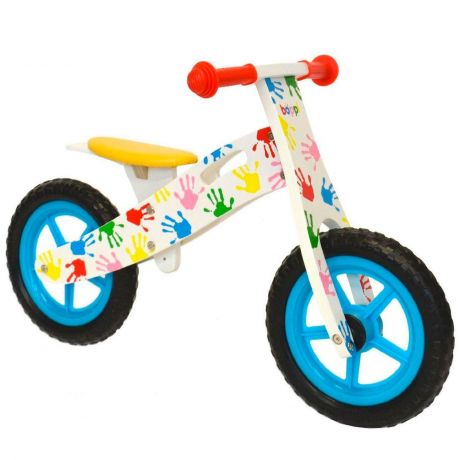 boppi® Wooden Balance Training Bike - Coloured Hands bopster