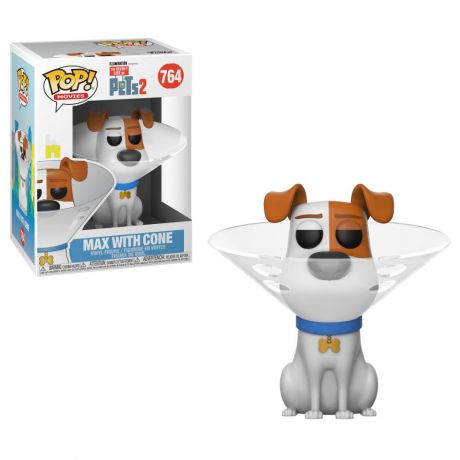 Funko Pop! Animation: The Secret Life of Pets - Max with Cone 764 (37888)