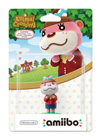 Amiibo Lottie Animal Crossing Character- Nintendo Switch