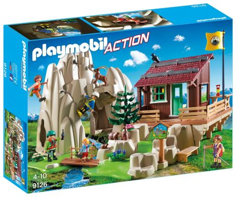 Playmobil 9126 Action - Rock Climbers with Cabin